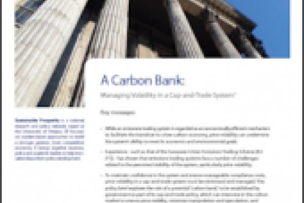 Une banque de carbone